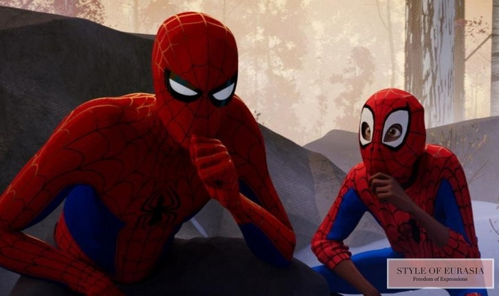 The pre-premiere of «Spider-Man: Into the Spider-Verse»