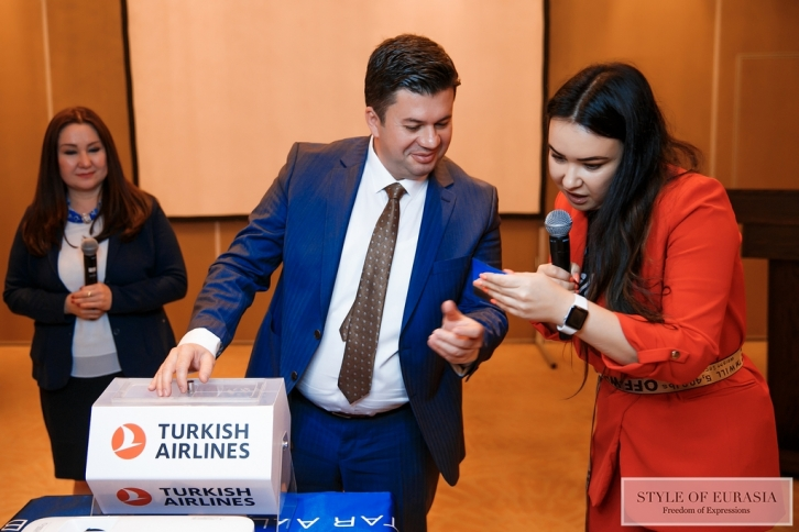 Press breakfast of Turkish Airlines in the city of Nur-Sultan