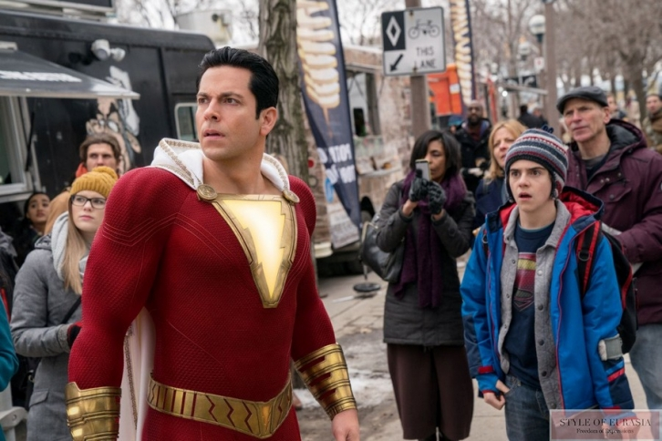 The pre-premiere of «Shazam!»
