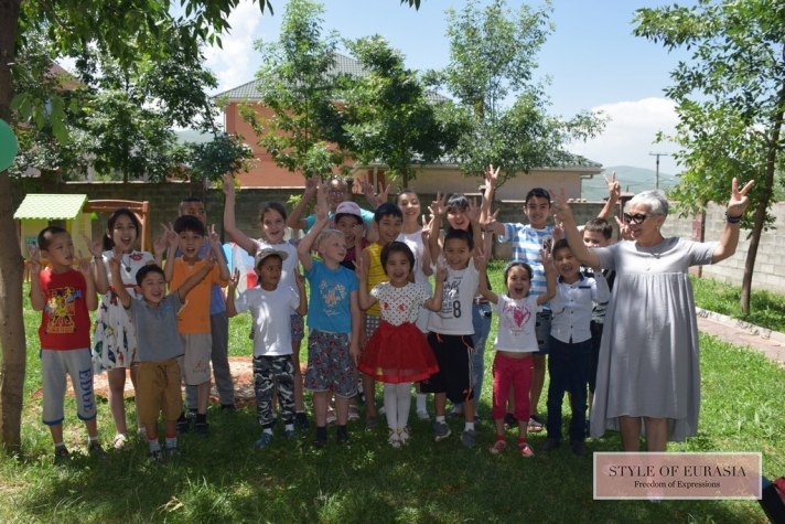 A summer camp for children with cancer was opened in the village of Kargauldy, near Almaty