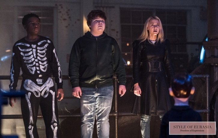 The pre-premiere of «Goosebumps 2: Haunted Halloween»
