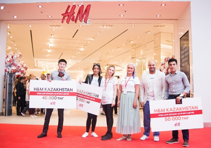 NEWS: In Astana opened first H&M store