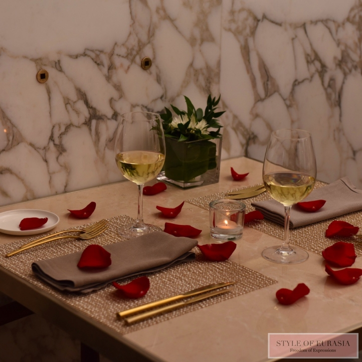 The Ritz-Carlton, Astana invites you to spend Valentine's Day in the atmosphere of absolute comfort
