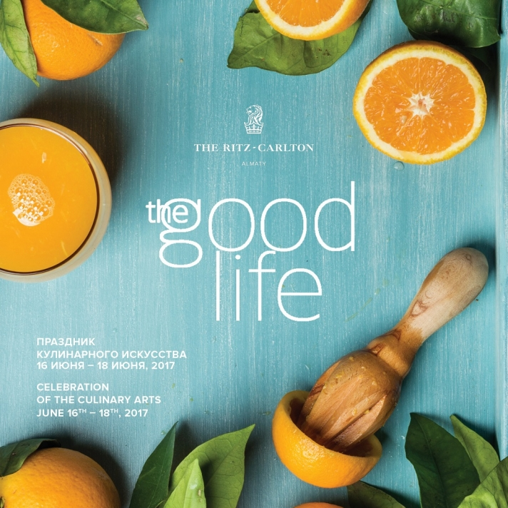 NEWS: The Ritz-Carlton Almaty opens the fourth season of the festival of culinary arts The Good Life