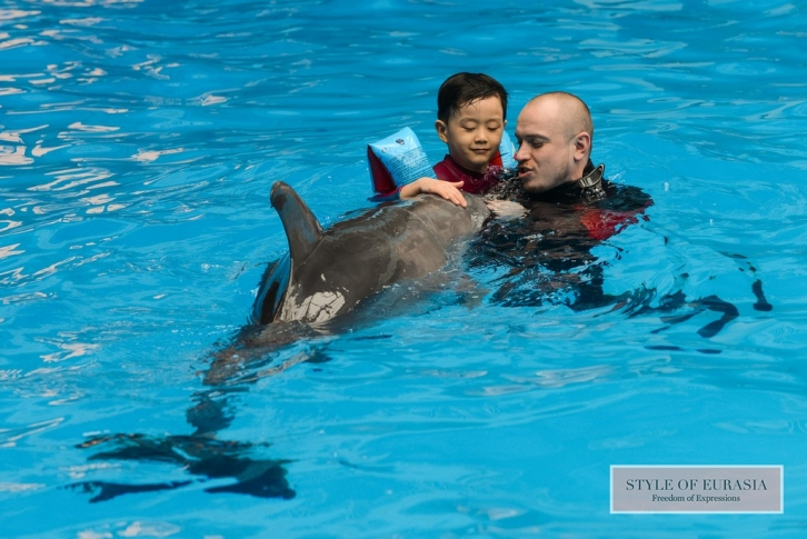 Forum «Dolphin therapy in the system of rehabilitation of children with special needs