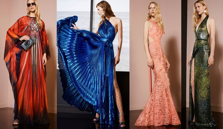NEWS: Lover of luxury Elie Saab released the collection of Resort 2018
