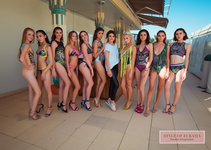 The presentation of ASAL swimwear collection #asalswimwear
