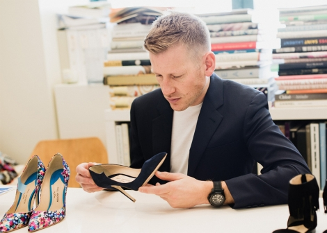 NEWS: Paul Andrew appointed creative director of women's shoe line of Salvatore Ferragamo