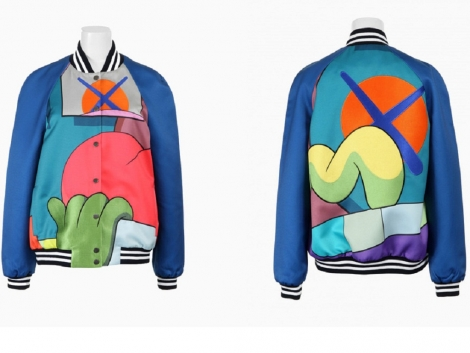 NEWS: Graffiti by Kaws on jackets from Colette