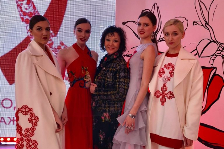 NEWS: Kazakhstani designers took part in Fashion AIDS line show in Moscow