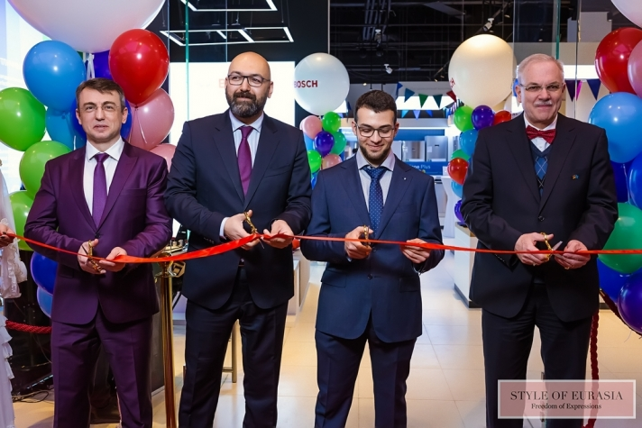 In Almaty, the flagship store Bosch has starts to work