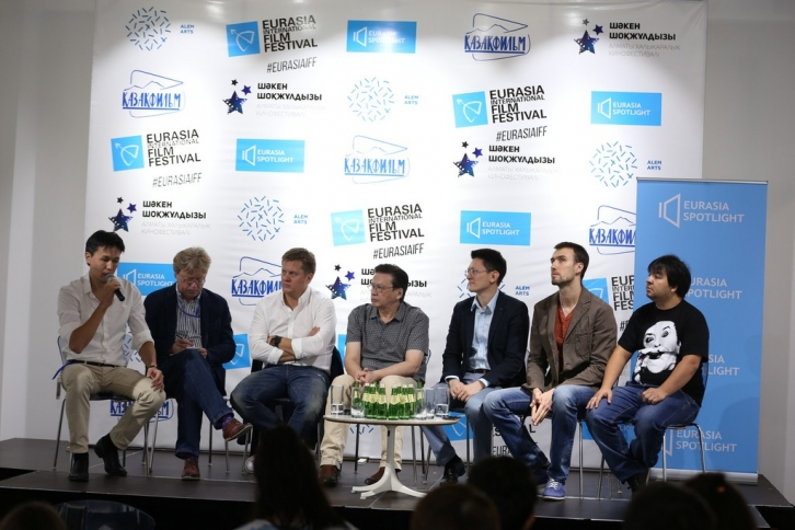 The roundtable within the framework of the XI Eurasia International Film Festival