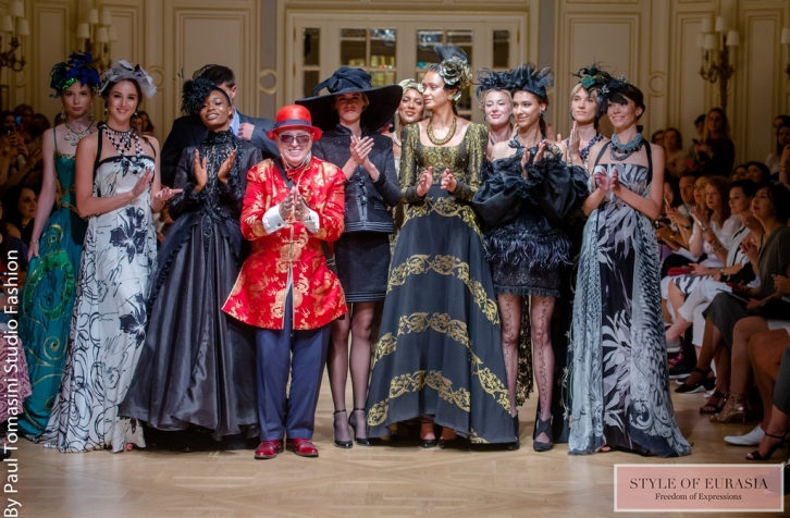 The Oriental Fashion Show in the framework of Paris Fashion Week Haute Couture 2019