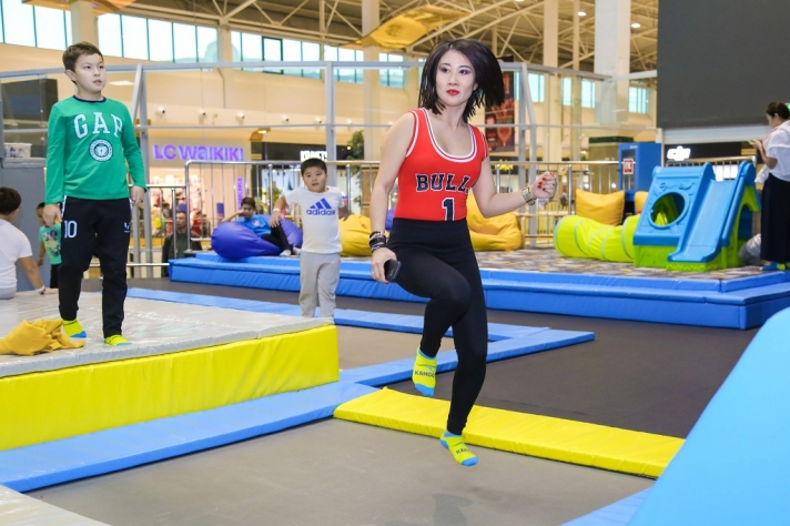 NEWS: In the Kango trampoline park is now the new type of fitness training MamaFit