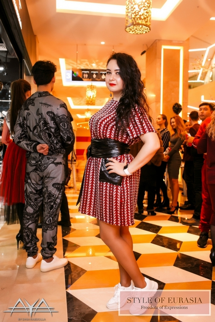AYA by DK boutique in Forum Almaty shopping center grand opening