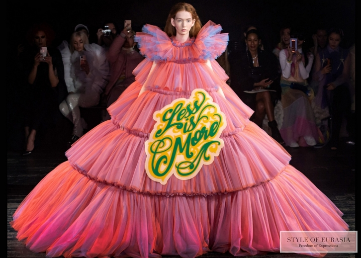 The brightest collections at the Paris Fashion Week Haute Couture spring-summer 2019