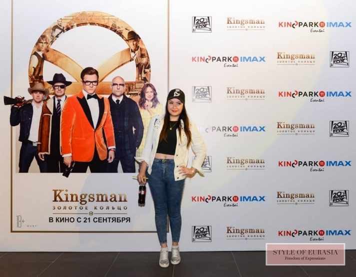The pre-premiere of «Kingsman: The Golden Circle»