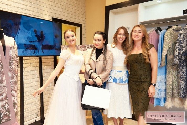 The presentation of the exclusive collection FW 2018-2019 from designer Ekaterina Kombarova