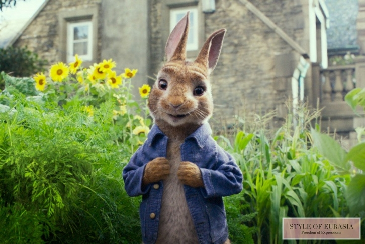 The pre-premiere of «Peter Rabbit»