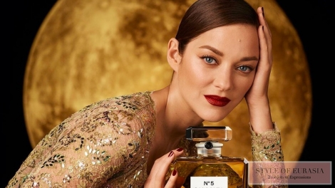 The brilliant Marion Cotillard starred in the new fabulous film Chanel №5