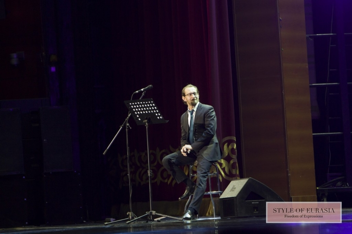 Saint-Saens and new turn: Yuri Bashmet and Konstantin Khabensky in Almaty