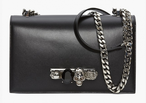 NEWS: The Jeweled Satchel is a new, interesting bags from Alexander McQueen