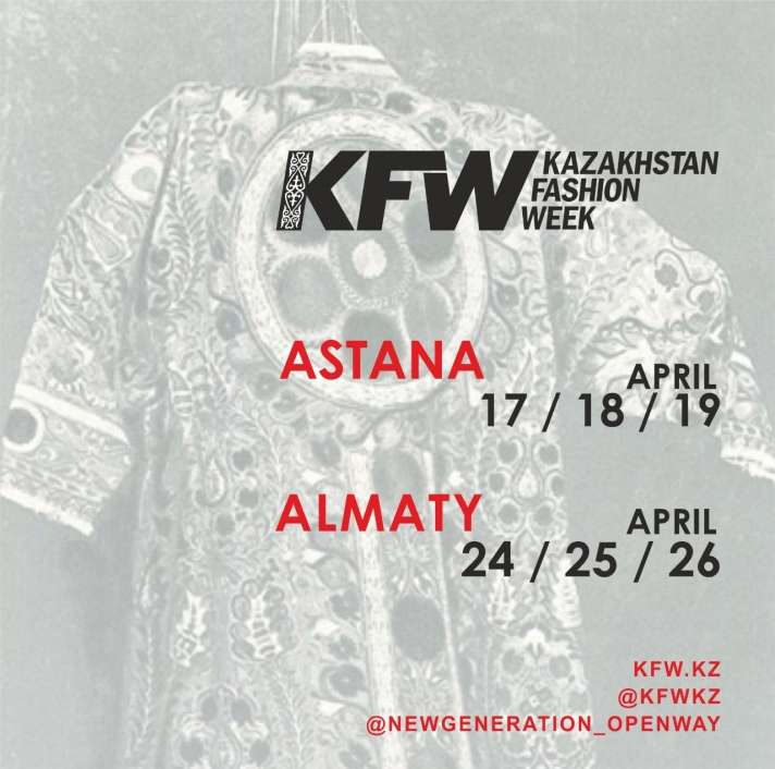 NEWS: Kazakhstan Fashion Week,15 years creating the history of the future
