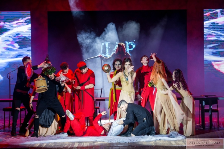 The premiere of the musical performance «Dar» in Almaty!