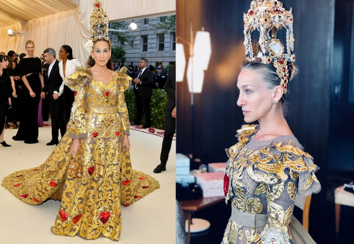 NEWS: Sarah Jessica Parker is the Queen of Met Gala 2018