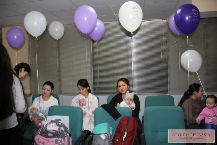 The Republic of Kazakhstan celebrated the world day premature baby
