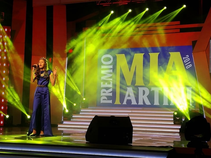 NEWS: For the first time, a 13-year-old singer from Kazakhstan won the prestigious Italian vocal Prize «Premio Mia Martini»