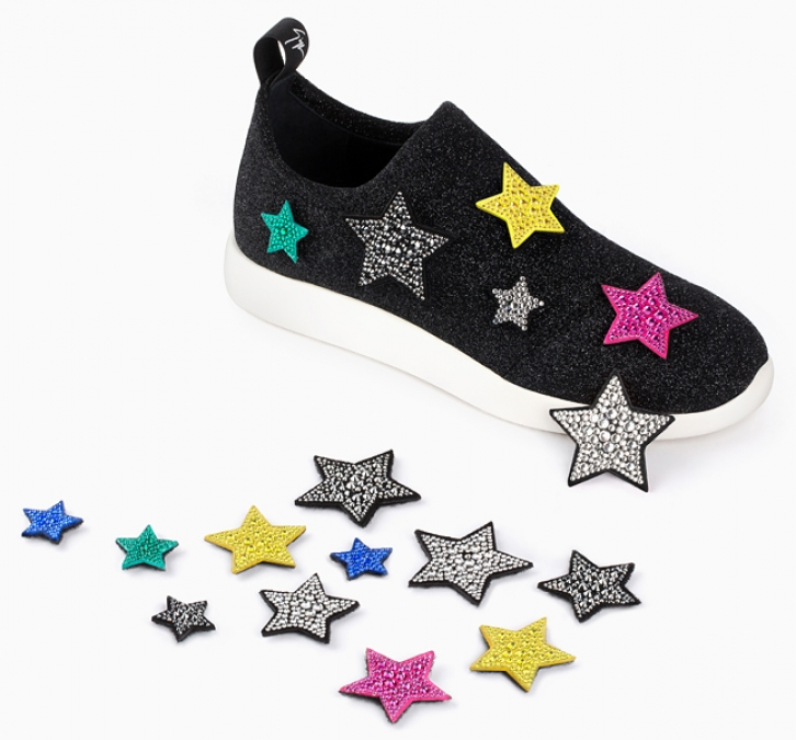 NEWS: Decorate your own sneakers by Giuseppe Zanotti