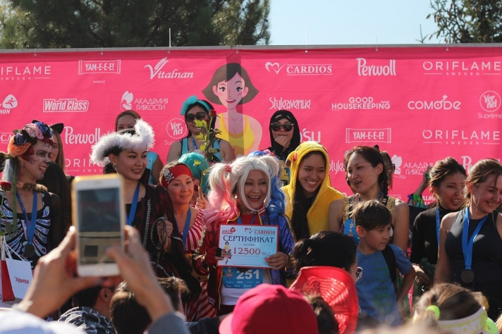 NEWS: Girls-Only Race – Women's Race was held in Almaty
