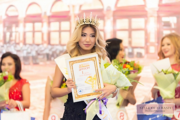The competition of beauty and talent «Queen»