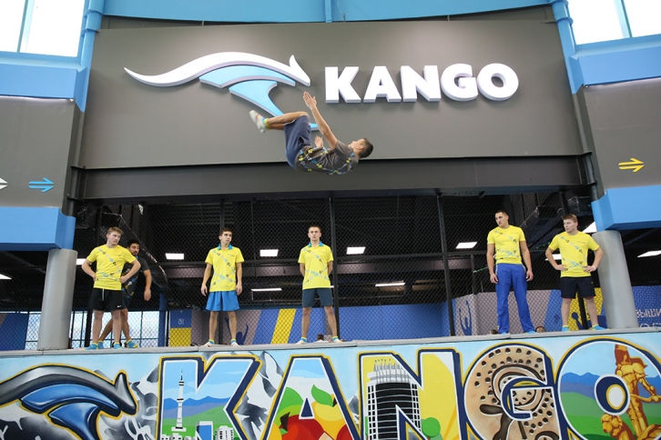 NEWS: Has opened the largest in Kazakhstan trampolining KANGO amusement park