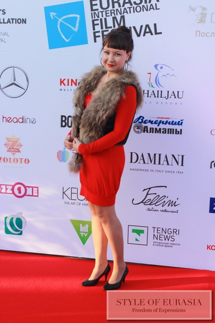 The closing ceremony of the XI Eurasia International Film Festival