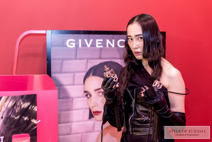 Presentation of the joint project designer Ainur Turisbek and Givenchy Parfums