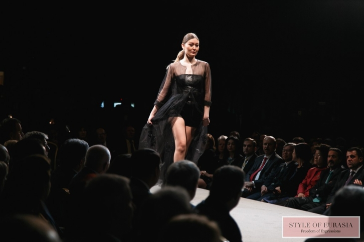 Gala Concert and Kazakhstan Fashion Week Astana fashion show in Europe
