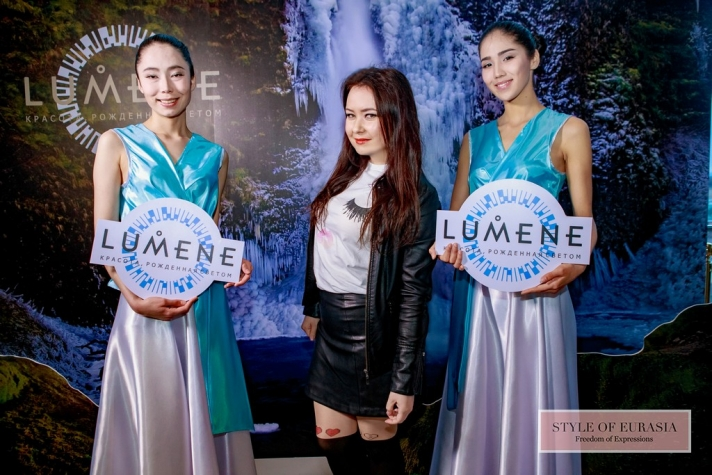 The presentation of new products from the brand LUMENE