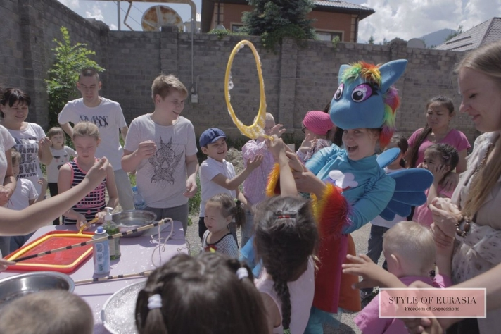 The presentation of the animated fairy tale created by pupils of the center  «Defeat autism»