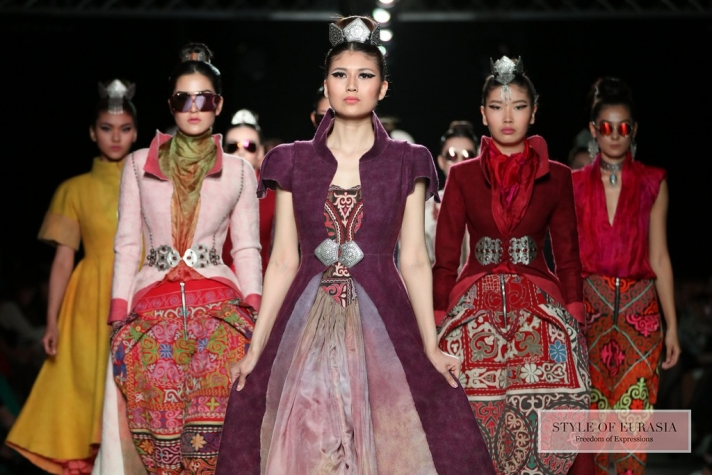 Kazakhstan Fashion Week Astana Autumn/Winter 2017-2018, 1 Day