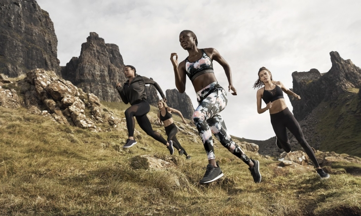 NEWS: The activewear collection made in sustainable materials from H&M already on sale