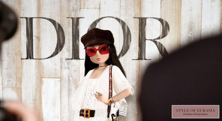 Virtual model Noonoouri eclipsed real fashion models at Paris Fashion Week