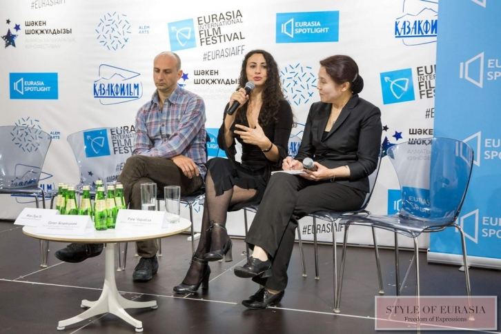 The press conference within the framework of the XI Eurasia International Film Festival