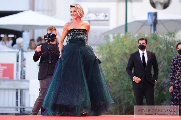 Red carpet at 77th Venice Film Festival