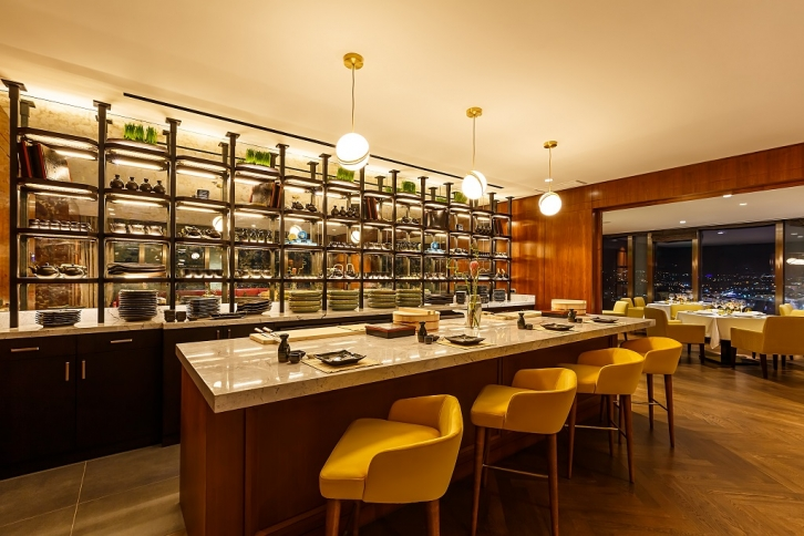NEWS: The Ritz-Carlton, Almaty represents the first in Kazakhstan gourmet restaurant Seven Bar & Restaurant