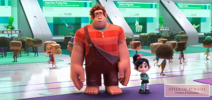 The pre-premiere of «Ralph Breaks the Internet»