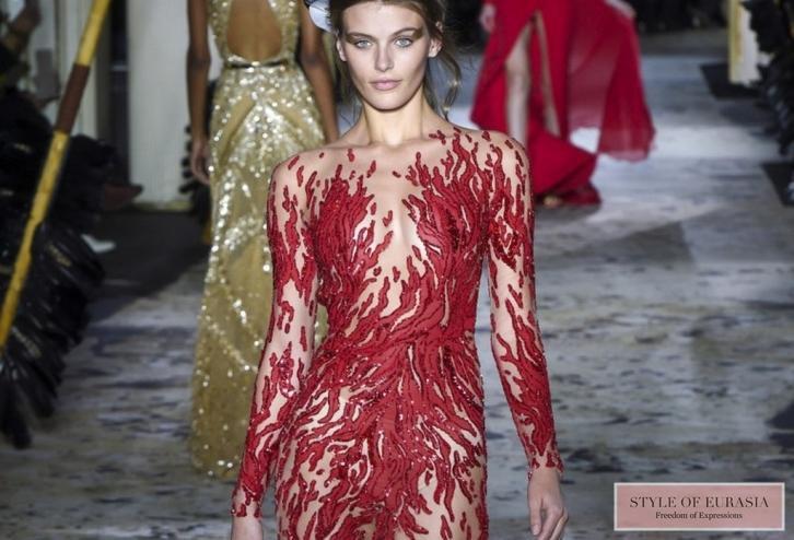 Transparent luxury from Zuhair Murad Couture