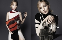 NEWS: Jennifer Lawrence has presented new Dior handbags