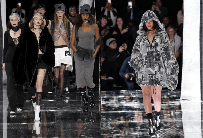 NEWS: Rihanna's first collection on the catwalk